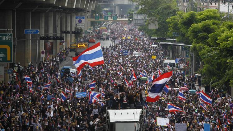 Proteste Thailanda