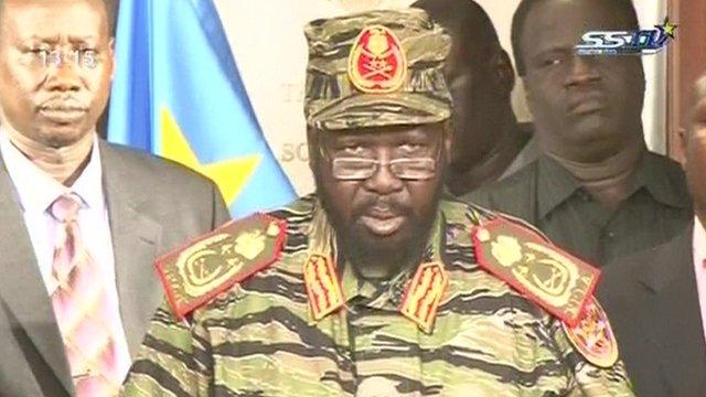 Sudanul de Sud presedinte Salva Kiir lovitura de stat
