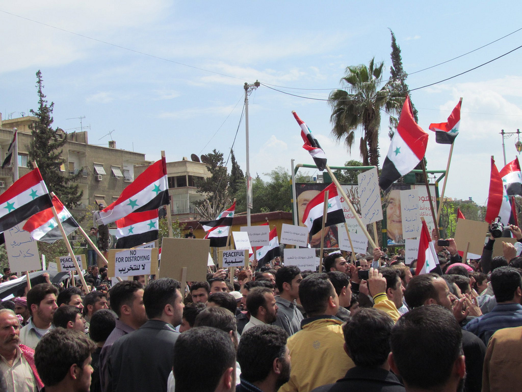 Syrian_Demonstration_Douma_Damascus