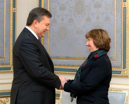 Ucraina Ianukovici Ashton pact UE