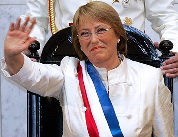 michelle bachelet alegeri prezidentiale chile