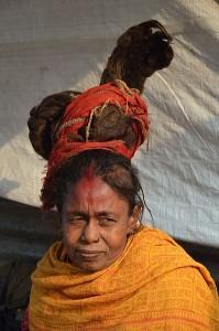 Sadhvi sau femeie Sadhu, considerata sfanta
