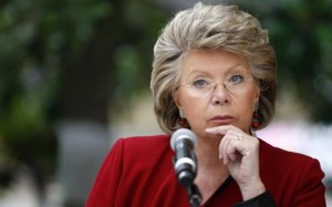Viviane Reding, vicepresedinte al CE si, totodata, cel mai longeviv comisar de la Bruxelles