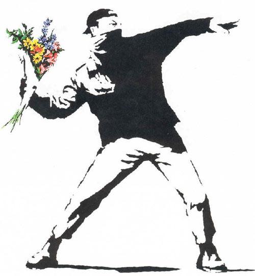 Banksy_rioter