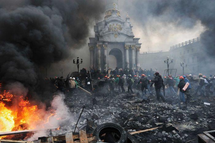 Proteste Ucraina 20 februarie