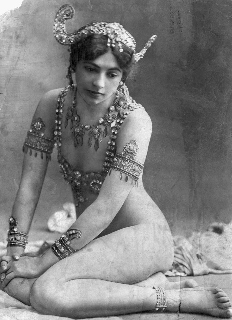 A Portrait of Mata Hari, circa 1907