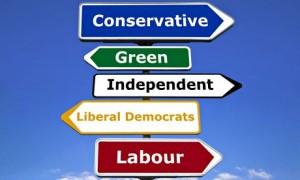 Signpost, political parties