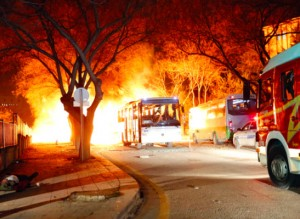 Explozia unei mașini capcană din capitala Turciei a vizat un vehicul în care se afla personal militar și s-a produs la o oră de vârf pentru traficul din Ankara.