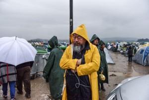 ai weiwei tabara macedonia refugiati idomeni