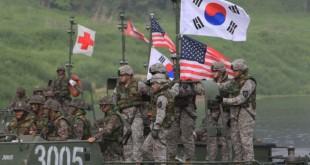 Exercițiile militare comune ale Statelor Unite ale Americii și Coreei de Sud au prevăzut simularea unei invazii de pe mare a plajelor nord-coreene și asaltul asupra sistemului defensiv al acestora