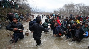 grecia macedonia granita rau imigranti