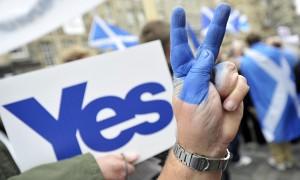 Scottish independence supporter