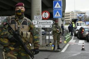 bruxelles aeroport securitate