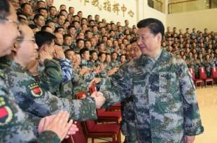 china xi jinping armata sef suprem