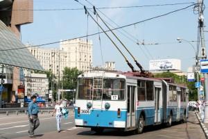 rusia moscova troleibuze