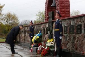 ucraina porosenko comemorare cernobal
