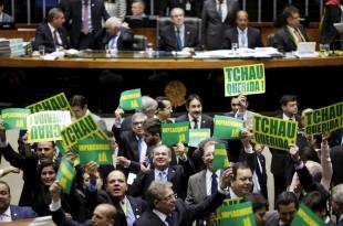 brazilia vot suspendre presedinte dilma rousseff