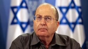 israel moshe yaalon ministru aparare