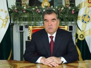 tadjikistan presedinte emomali rahmon