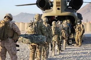 afganistan sua trupe americane