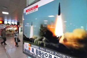 coreea de nord lansare rachete