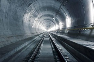 elvetia tunel feroviar