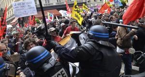 franta proteste cgt sindicat