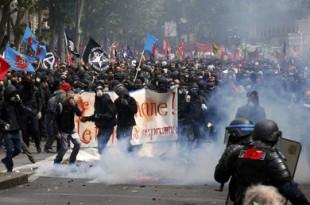 franta proteste violente paris
