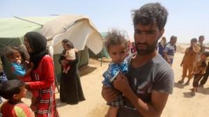 irak tabara refugiati fallujah