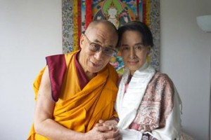 myanmar dalai lama suu kyi rohyngia