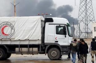 siria darayya ajutor umanitar