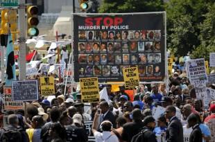 sua proteste politie crime negri