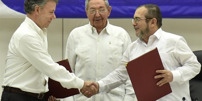 columbia farc acord pace cuba