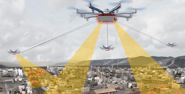 darpa aerial dragnet monitorizare drone america