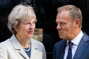 marea britanie brexit theresa may donald tusk negocieri