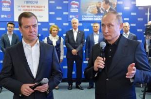 rusia alegeri parlamentare rusia unita putin medvedev