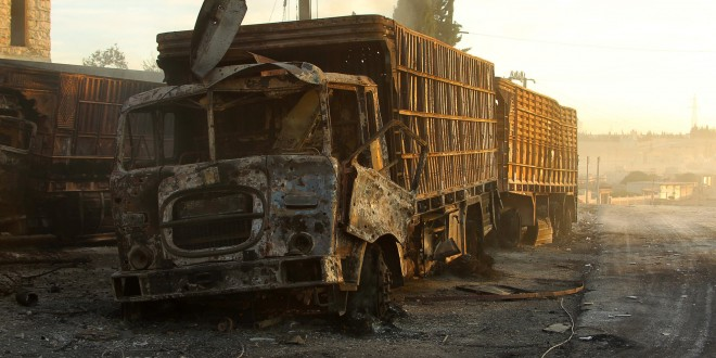 siria onu atac convoi umanitar aleppo