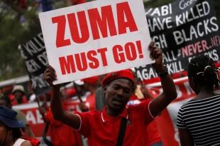 africa de sud proteste zuma demisie
