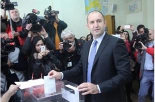 bulgaria alegeri prezidentiale rumen radev