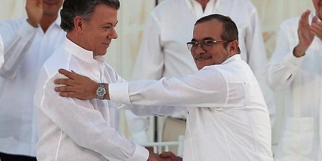 columbia rebeli farc acord presedinte juan manuel santos