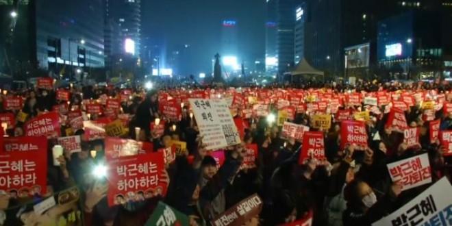 coreea de sud proteste anti prezidentiale seul