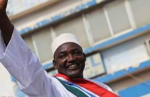gambria adama barrow alegeri prezidentiale
