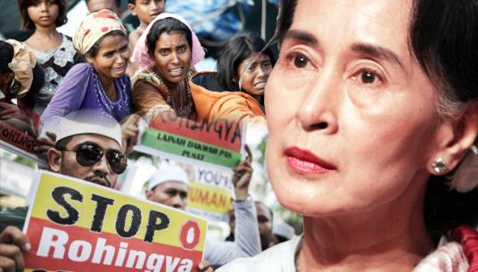 myanmar rohingya aung san suu kyi genocid minoritate musulmana