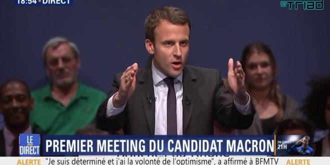 Candidatul independent Emmanuel Macron, fost ministru al economiei, a lansat o campanie pro-UE apreciată de electoratul tânăr din Franța