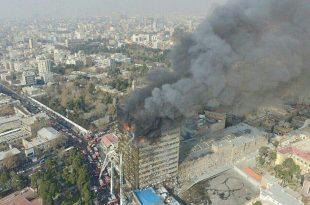 iran-cladire-incendiu-prabusit-decese-pompieri