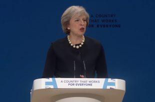 Premierul britanic Theresa May a anunțat că Regatul Unic va părăsi piața unică europeană după negocierile privind Brexitul