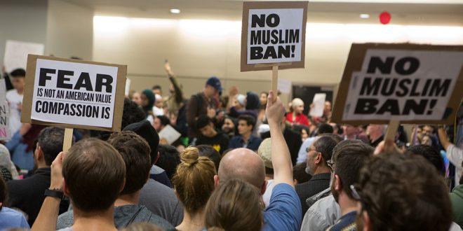 sua proteste imigranti ordin presedinte trump musulmani