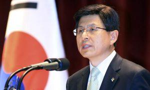 coreea de sud Hwang Kyo-ahn presedinte interimar suspendare scandal coruptie