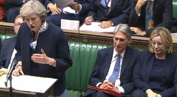 marea britanie parlament theresa may vot brexit