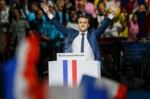 franta alegeri prezidentiale rezultat primul tur de scrutin emanuel macron